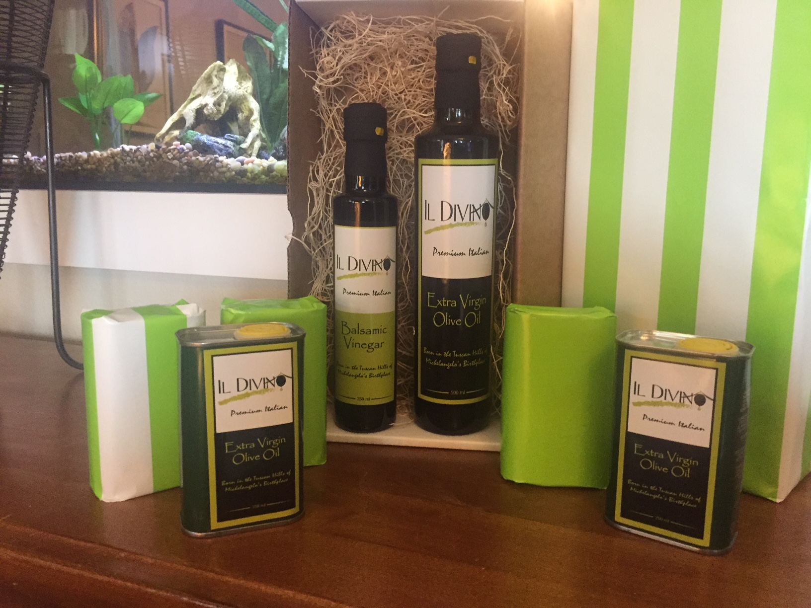 IL DIVINO Extra Virgin Olive Oil
