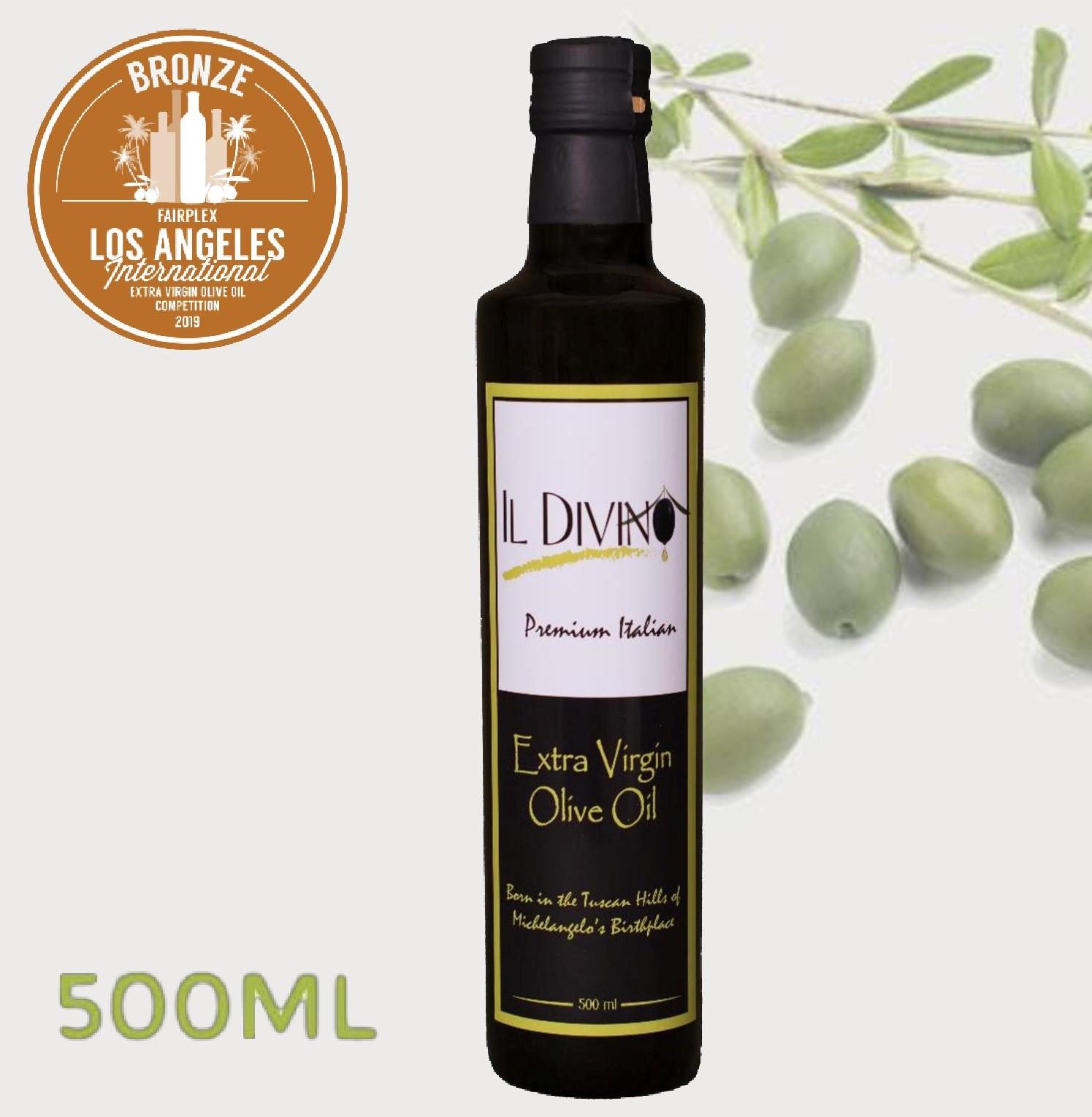 IL DIVINO Extra Virgin Olive Oil 500ml - 2019 (preorder)