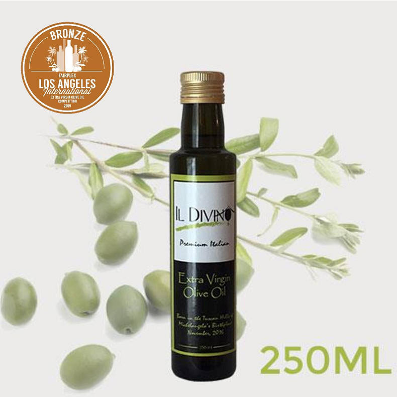 IL DIVINO Extra Virgin Olive Oil 250ml can