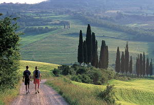 Hiking in the Tuscany Hills